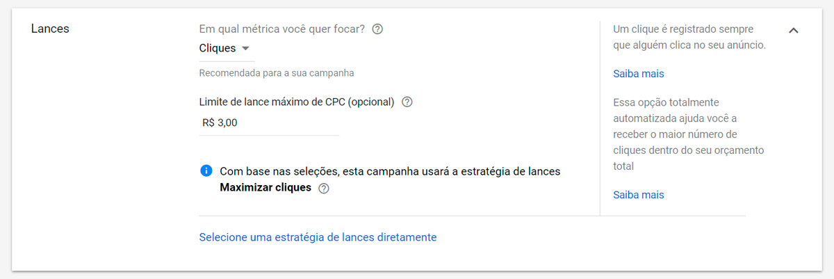 Google Ads - Passo a passo - Etapa 11