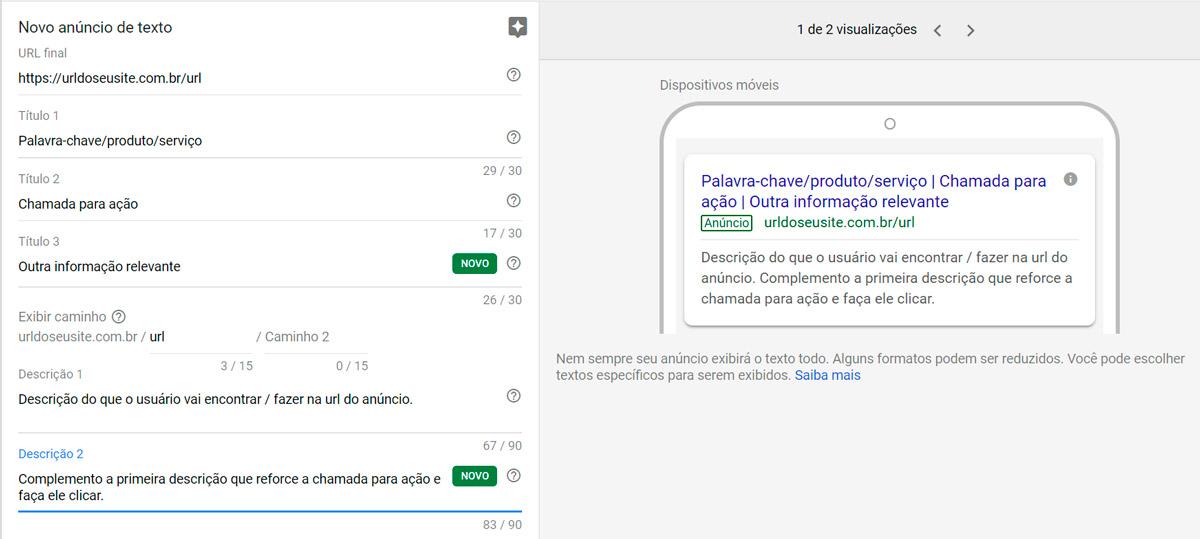 Google Ads - Passo a passo - Etapa 15