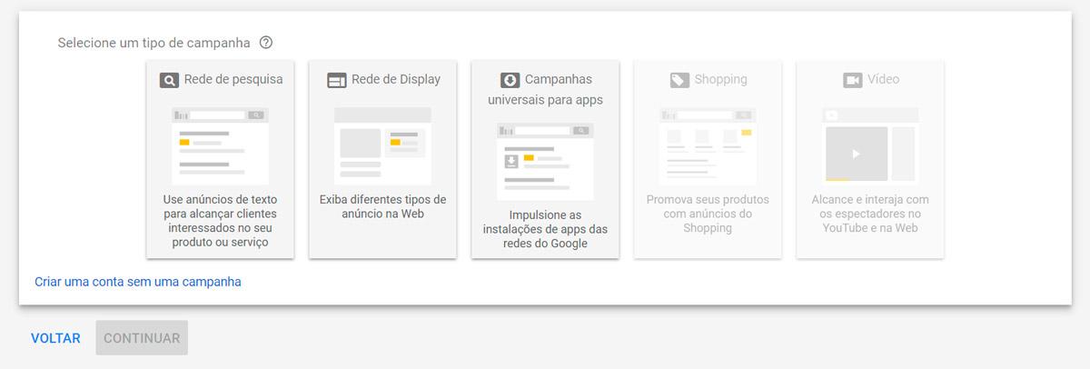 Google Ads - Passo a passo - Etapa 4
