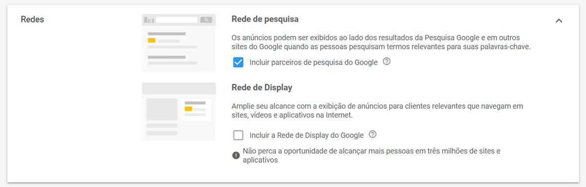 Google Ads - Passo a passo - Etapa 7