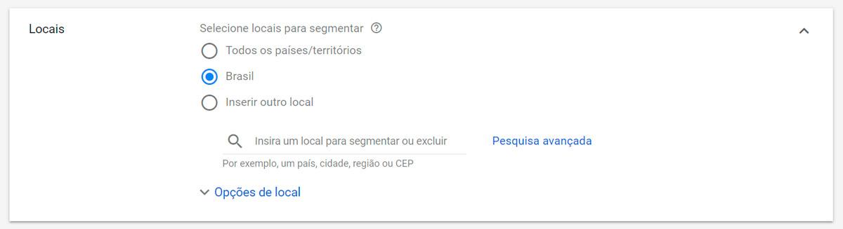 Google Ads - Passo a passo - Etapa 8