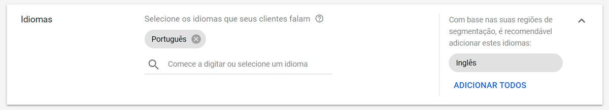 Google Ads - Passo a passo - Etapa 9